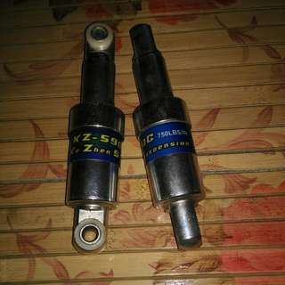 Used Suspension Take Out From Ebike....can Modified For Your Scooter Maybe Cheap Sale