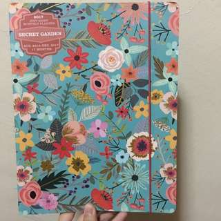 Secret Garden Artbox Monthly Planner (August 2016 - December 2017)