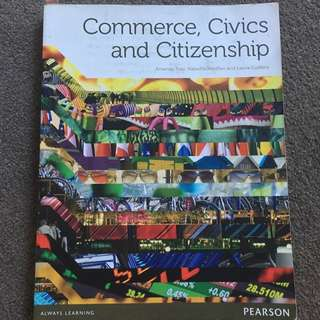 Commerce, Civics & Citizenship - Year 10