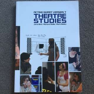 Theatre Studies Textbook - Units 1-4