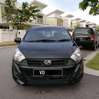 Kereta Sewa Axia / Axia For Rent