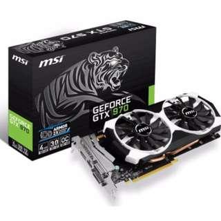MSI GTX 970 OC ARMOR