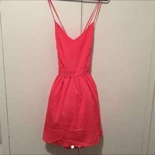 Asos Pink Dress With Tutu