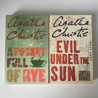 Agatha Christie - A Pocket Full Of Rye & Evil Under The Sun