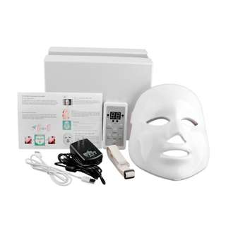 7 Colors LED Light Photon Therapy Facial Mask