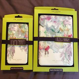 Ted Baker Original iPhone 6Plus And Mini iPad Covers