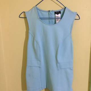 Bardot Light Blue Top