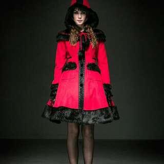 Dolly Goth Lolita Coat.