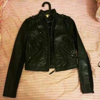 Jay Jays Leather Jacket, Size 8