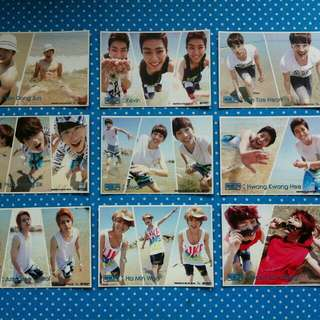 ZE:A Exciting Photocards