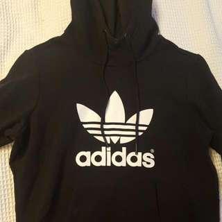 Adidas Originals Black Hoodie Size 8