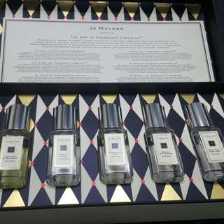 Jo Malone 限量版 聖誕 Cologne Collection香氣柔和系列(5瓶X9ml )