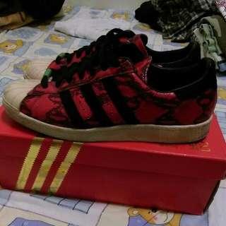 Adidas 紅蛇
