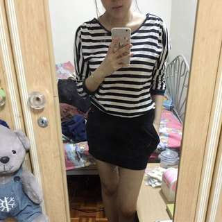 Nichii Stripes Dress
