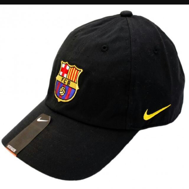 2012 13 NIKE FC Barcelona Soccer Hat Barca Sports Cap Black 8698ffa924d