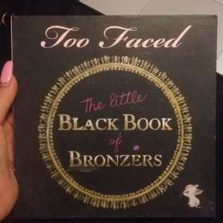 Too Faced Book Of Bronzer