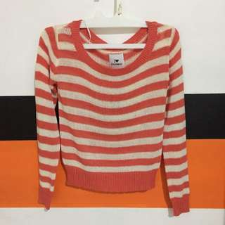 COLORBOX STRIPED SWEATER