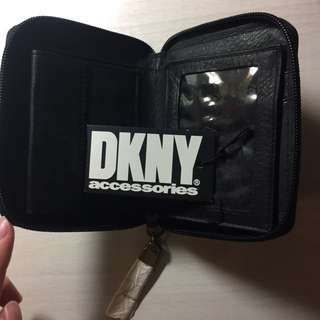 New DKNY Leather Wallet