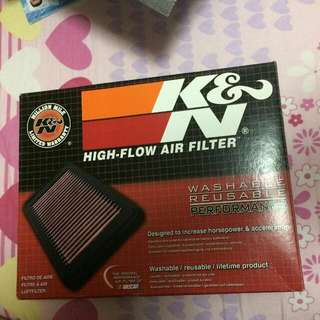 K&N Air Filter For FZ 16 (New)