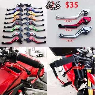 Honda CB190r / CB400 / Yamaha R15 Foldable / Long / Short Brake & Clutch Levers CNC HIGH QUALITY FZ16 / CB400 / NC750X / NC700 / Jupiter135 / MX135 / KTM200 / KTM390 CLUTCH LEVERS