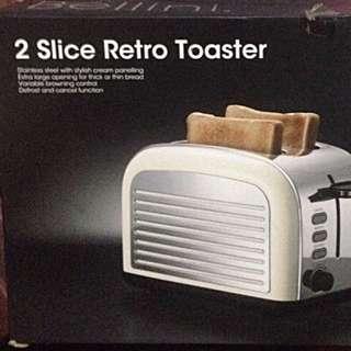 Bellini 2-slice Retro Toaster