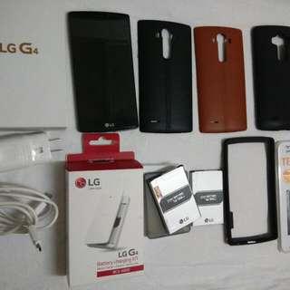LG G4 with Box Full Set