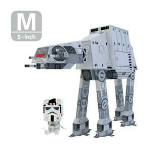Star Wars AT-AT Walker Paper Toy by Momot Toys