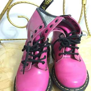 doc martens pink boots authentic