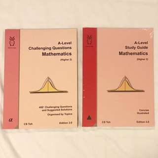 CS Toh H2 Mathematics Challenging Questions And Study Guide