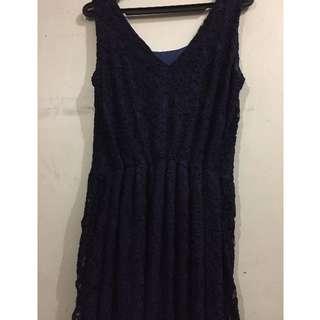 Embossed Dress