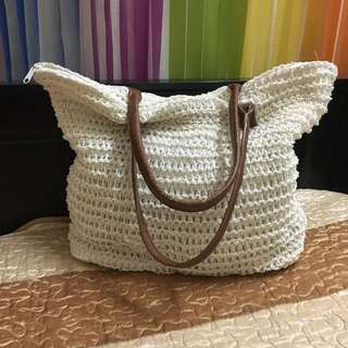 H&M Knitted Shoulder Bag