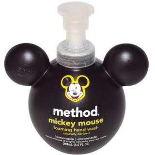米奇泡沫天然洗手露  萊姆香味