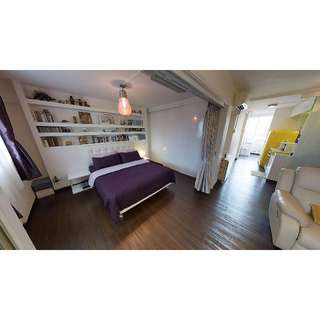 **OPEN HOUSE** Chic 2-rm type HDB in Tiong Bahru (RENT) !