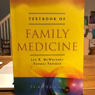 Textbook Of Family Medicine Third Edition
