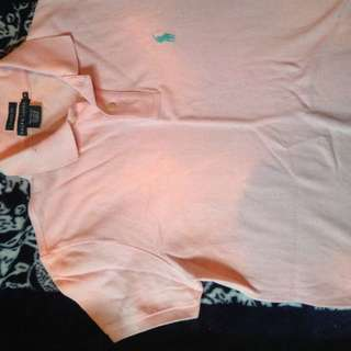 Girls Pink Polo