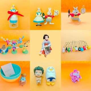 迪士尼 愛麗絲夢遊仙境 美女與野獸 泡泡先生 系列商品