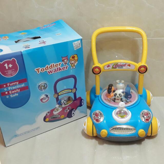 嬰幼兒學步車,推動時有音樂聲!出清價800免運