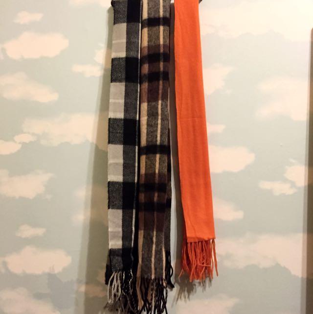 春秋小圍巾