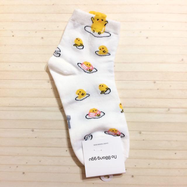 全新 蛋黃哥 襪子