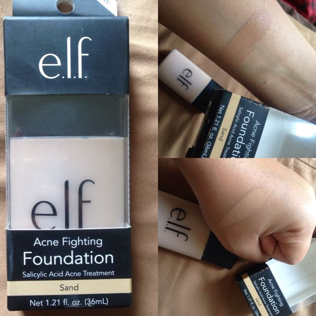 Acne Fighting Foundation Elf