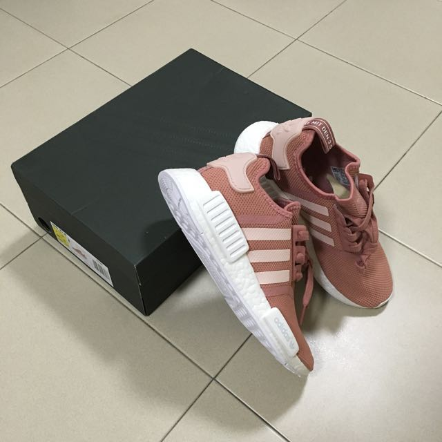 22d84a30f Adidas Originals NMD R1 Raw Pink Salmon