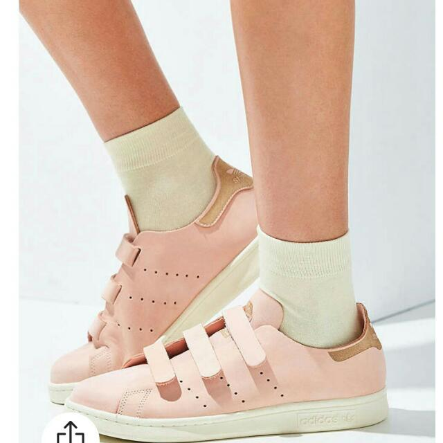 Adidas Pink Stan Smiths Nubuck