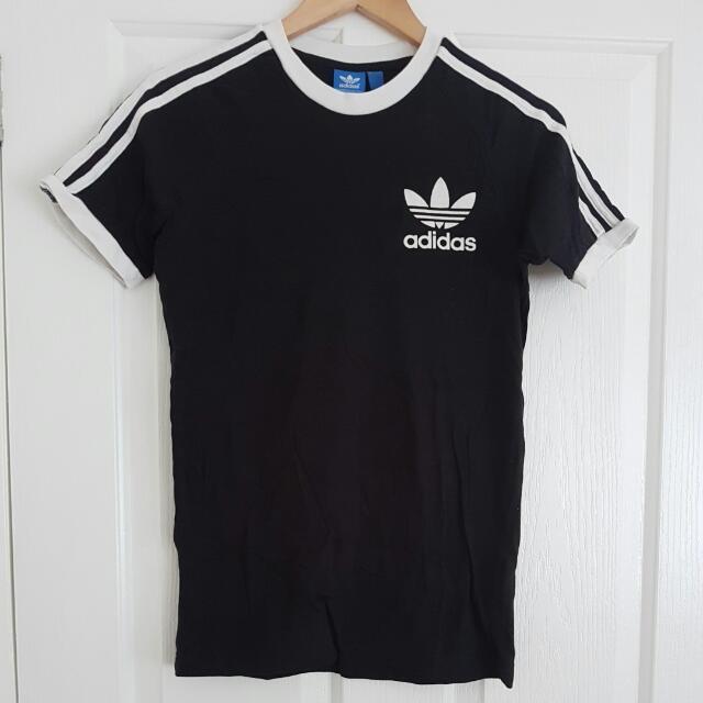 Adidas Trefoil Originals Tee Xs Black