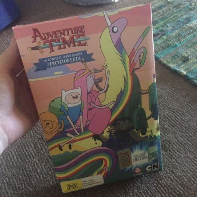 Adventure Time Season 3 PLUS Encylopedia