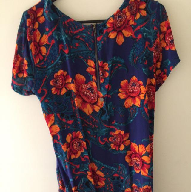 Billabong Floral Shift Dress