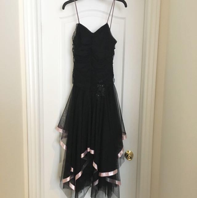 Black Tool Dress