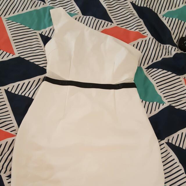 BNWT Zalora Asymmetrical Dress