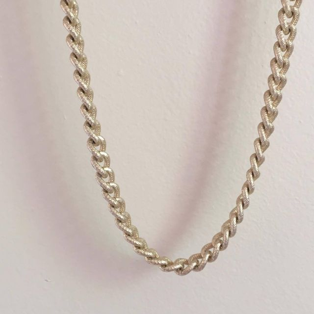 Brushed Gold Chain Necklace