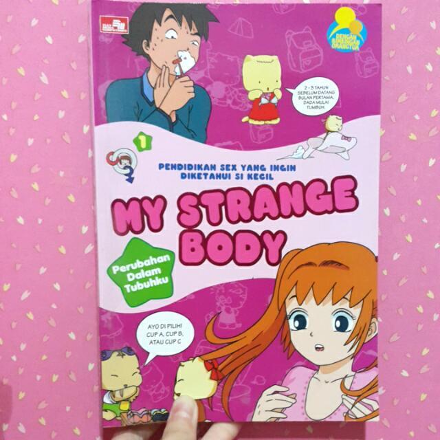 """Buku Bekas """"My Strange Body"""""""