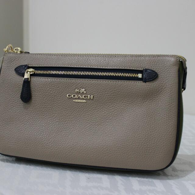 Coach Nolita Wristlet Bag Authentic Original